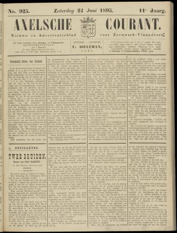 Axelsche Courant 1895-06-22