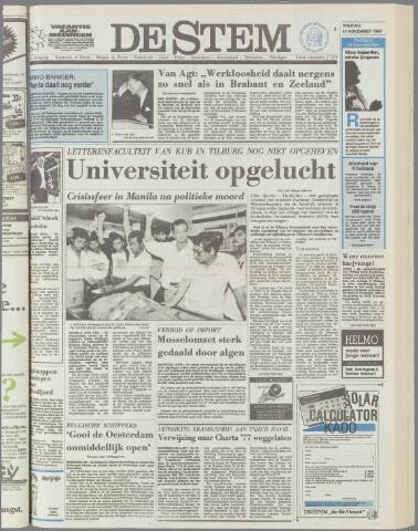 de Stem 1986-11-14