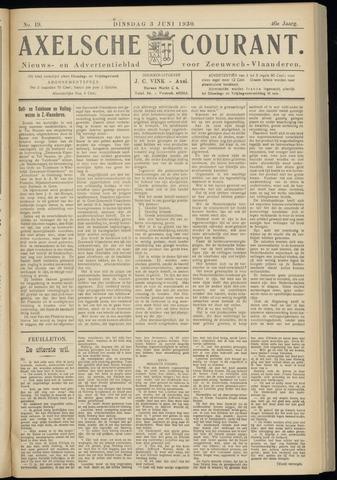 Axelsche Courant 1930-06-03