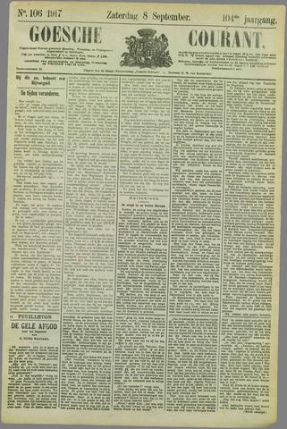 Goessche Courant 1917-09-08