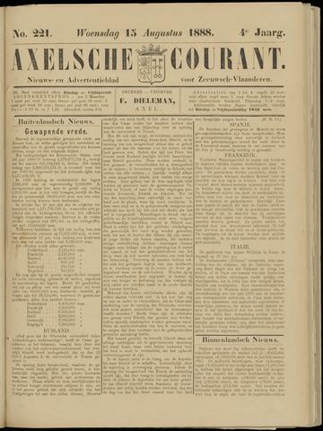 Axelsche Courant 1888-08-15