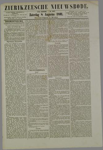 Zierikzeesche Nieuwsbode 1891-08-08
