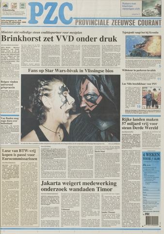 Provinciale Zeeuwse Courant 1999-09-28