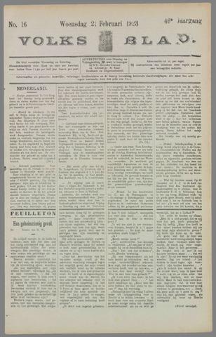 Volksblad 1923-02-21