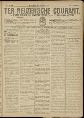 Ter Neuzensche Courant. Algemeen Nieuws- en Advertentieblad voor Zeeuwsch-Vlaanderen / Neuzensche Courant ... (idem) / (Algemeen) nieuws en advertentieblad voor Zeeuwsch-Vlaanderen 1916-02-05