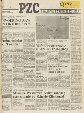 Provinciale Zeeuwse Courant 1975-09-18