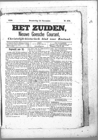 Nieuwe Goessche Courant 1880-11-25