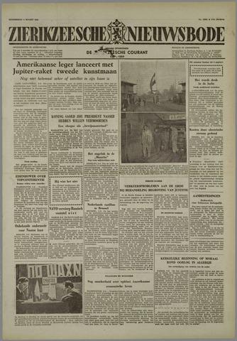 Zierikzeesche Nieuwsbode 1958-03-06