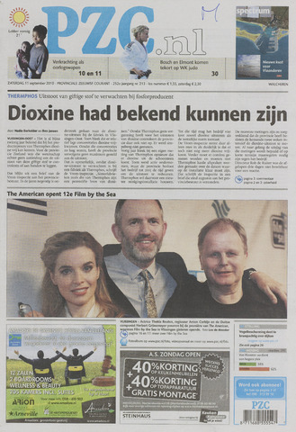 Provinciale Zeeuwse Courant 2010-09-11
