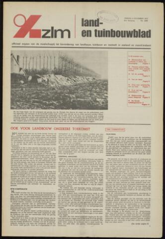 Zeeuwsch landbouwblad ... ZLM land- en tuinbouwblad 1973-11-09