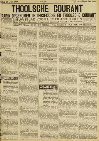 Ierseksche en Thoolsche Courant 1937-07-23