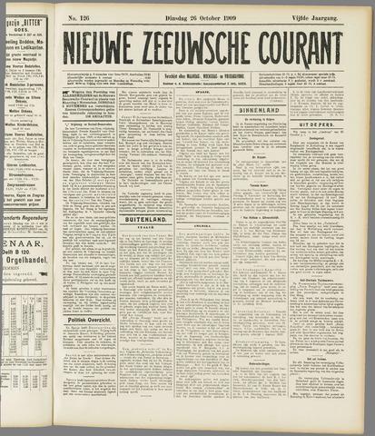 Nieuwe Zeeuwsche Courant 1909-10-26