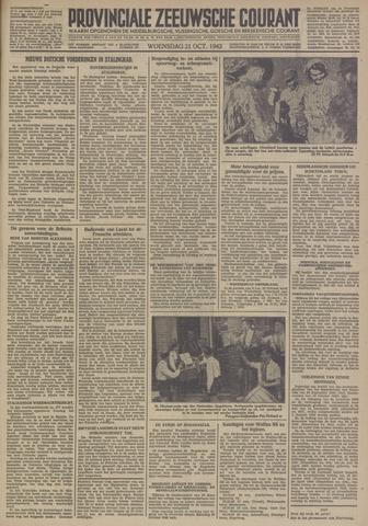 Provinciale Zeeuwse Courant 1942-10-21