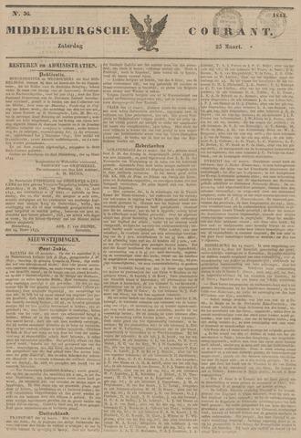 Middelburgsche Courant 1843-03-25