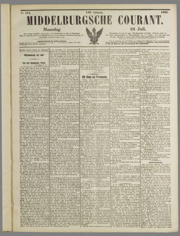 Middelburgsche Courant 1905-07-24
