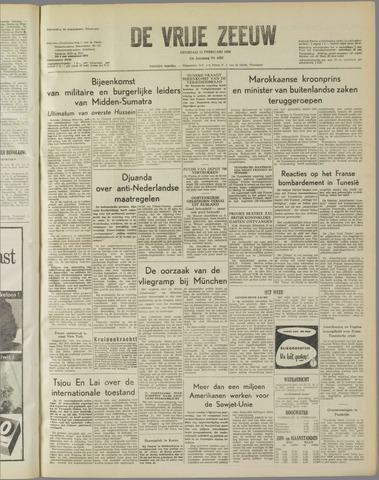 de Vrije Zeeuw 1958-02-11