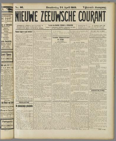 Nieuwe Zeeuwsche Courant 1919-04-24