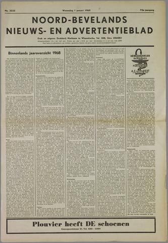 Noord-Bevelands Nieuws- en advertentieblad 1969