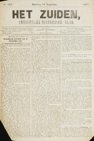 Het Zuiden, Christelijk-historisch blad 1877-08-14