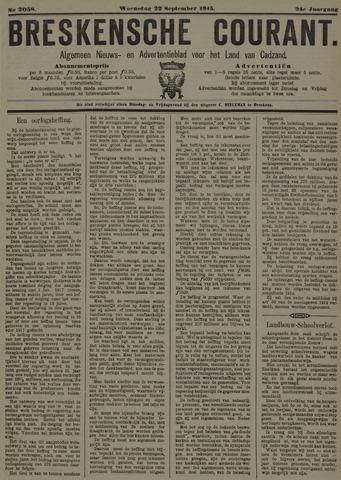 Breskensche Courant 1915-09-22