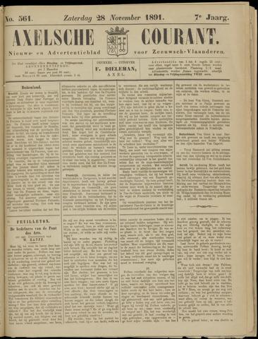 Axelsche Courant 1891-11-28