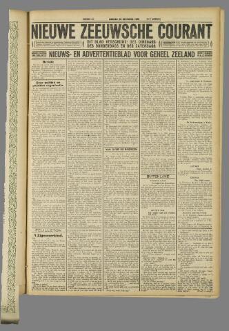 Nieuwe Zeeuwsche Courant 1926-12-28