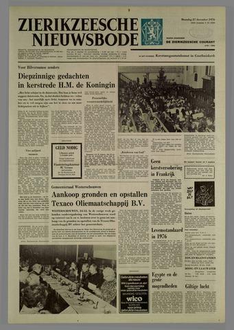 Zierikzeesche Nieuwsbode 1976-12-27