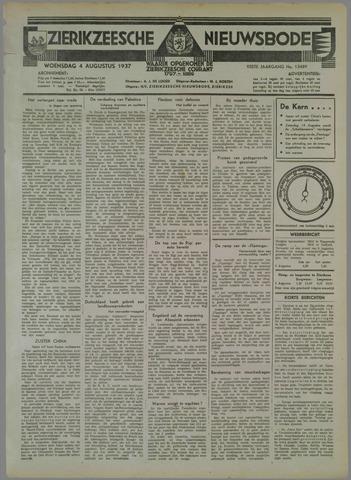 Zierikzeesche Nieuwsbode 1937-08-04