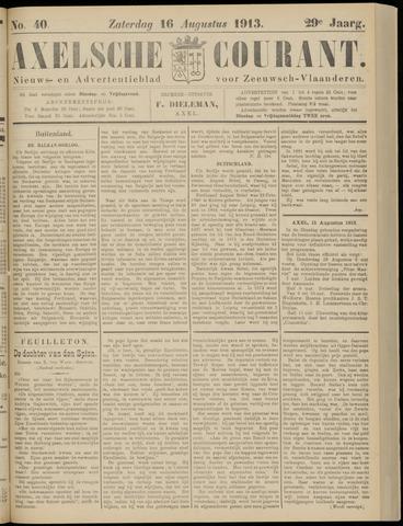 Axelsche Courant 1913-08-16