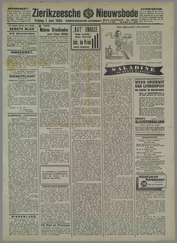 Zierikzeesche Nieuwsbode 1934-06-01