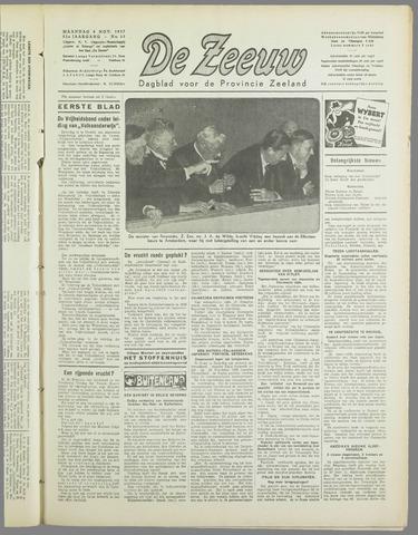 De Zeeuw. Christelijk-historisch nieuwsblad voor Zeeland 1937-11-08