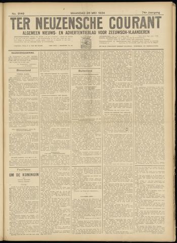 Ter Neuzensche Courant. Algemeen Nieuws- en Advertentieblad voor Zeeuwsch-Vlaanderen / Neuzensche Courant ... (idem) / (Algemeen) nieuws en advertentieblad voor Zeeuwsch-Vlaanderen 1934-05-28