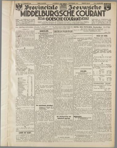 Middelburgsche Courant 1934-11-03