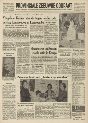 Provinciale Zeeuwse Courant 1960-09-08