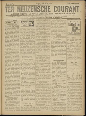 Ter Neuzensche Courant. Algemeen Nieuws- en Advertentieblad voor Zeeuwsch-Vlaanderen / Neuzensche Courant ... (idem) / (Algemeen) nieuws en advertentieblad voor Zeeuwsch-Vlaanderen 1927-05-27