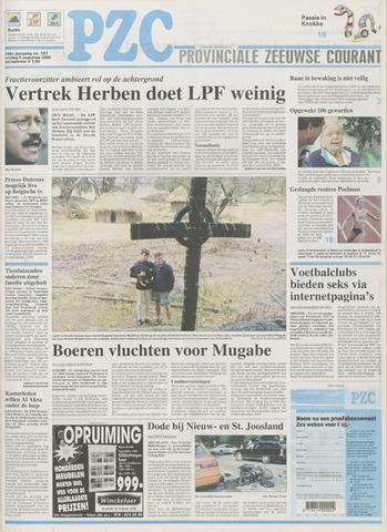 Provinciale Zeeuwse Courant 2002-08-09