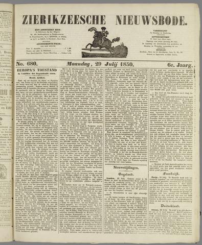 Zierikzeesche Nieuwsbode 1850-07-29