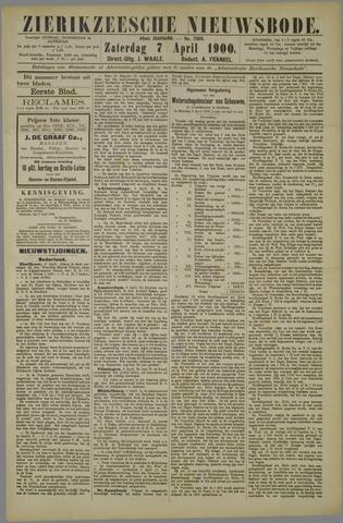 Zierikzeesche Nieuwsbode 1900-04-07