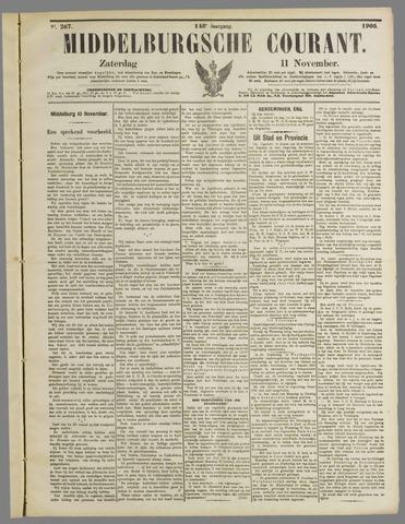 Middelburgsche Courant 1905-11-11
