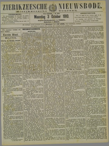 Zierikzeesche Nieuwsbode 1910-10-03