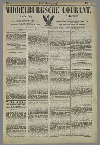 Middelburgsche Courant 1887-01-06