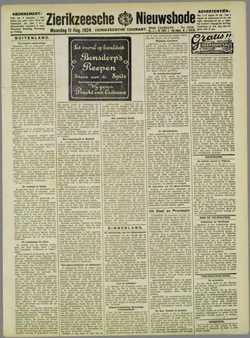Zierikzeesche Nieuwsbode 1924-08-11