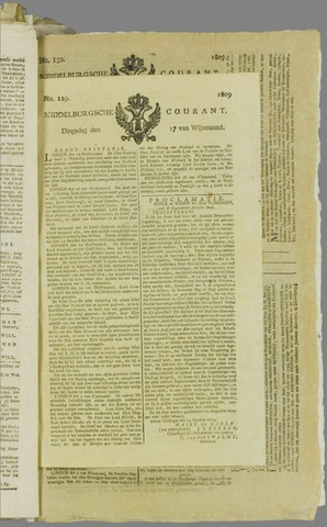 Middelburgsche Courant 1809-10-17