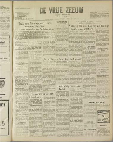 de Vrije Zeeuw 1958-02-04