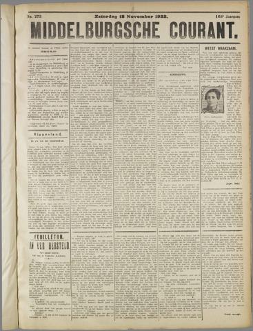 Middelburgsche Courant 1922-11-18