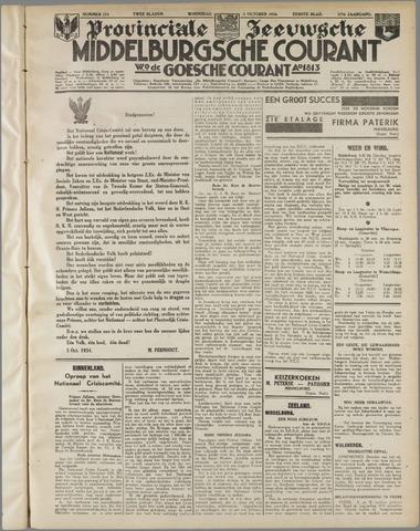 Middelburgsche Courant 1934-10-03