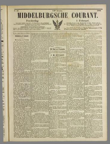Middelburgsche Courant 1906-02-01