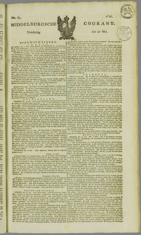 Middelburgsche Courant 1824-05-27