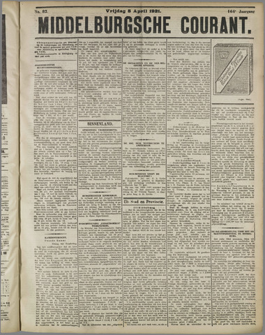 Middelburgsche Courant 1921-04-08