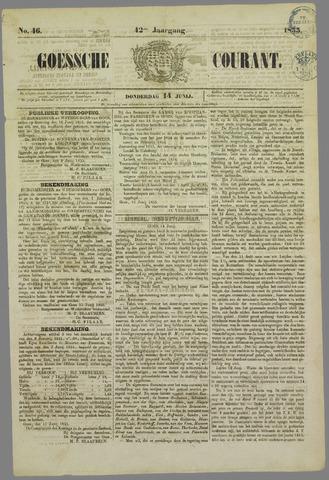 Goessche Courant 1855-06-14